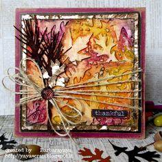 yaya scrap & more: fall card