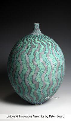 Peter Beard Ceramics - Thrown Stoneware Vessel