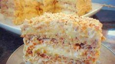 Этот рецепт будут выпрашивать все гости!!! Ингредиенты: Тесто: На каждый корж : 3 белка 2.5 ст.л. сахара 1/2 ст.л. муки 50 гр. молотого ореха (грецкого или фундука). Всего...