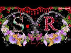 'S & R' Letter Romantis Whatsaap Status New Good Night Images, Love Images With Name, Love Heart Images, Cute Love Pictures, Happy Birthday Romantic, Happy Birthday Text, Dj Images, Ram Image, Best Friend Gifs