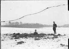 1. Weltkrieg: 15cm Granateneinschlag westlich Punkt 510 – Swiss Federal Archives