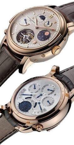 Very Expensive Watches.... Vacheron Constantin Tour de Ille Mens Watch 80250/000R-9145. - automatic mens watches, discount mens designer watches, best mens watches