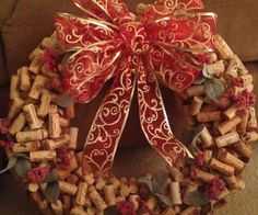 This instructable will walk you though how to turn all those wine corks you have lying around into a lovely holiday wreath!
