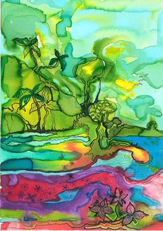 Color and technique Illustration Art, Watercolor, Painting, Life, Pen And Wash, Watercolor Painting, Painting Art, Watercolour, Paintings