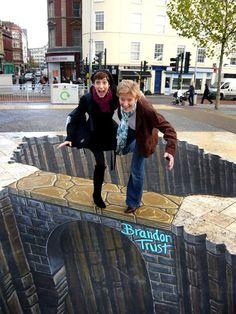 Stunning 3D Street Art by Famous Artists