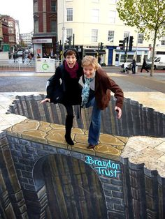 Stunning 3D Street Art by Famous Artists