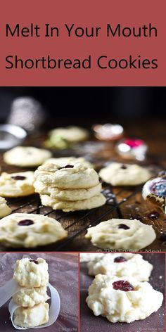 Melt In Your Mouth Shortbread Cookies For Christmas