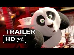 Kung Fu Panda 3 Official Teaser Trailer #1 (2016) - Jack Black, Angelina Jolie Animated Movie HD - YouTube  OMG  My dog is going to so love this.  He adores KungFu Panda.