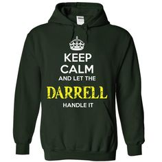 DARRELL - KEEP CALM AND LET THE DARRELL HANDLE IT - #tee pee #hoodie design. GET => https://www.sunfrog.com/Valentines/DARRELL--KEEP-CALM-AND-LET-THE-DARRELL-HANDLE-IT-55255003-Guys.html?68278