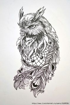 Owl Dreamcatcher Tattoo Love this one for sure Atrapasueños Tattoo, Buho Tattoo, Body Art Tattoos, Dove Tattoos, Celtic Tattoos, Chest Tattoo, Owl Tattoo Design, Dragon Tattoo Designs, Tribal Tattoo Designs