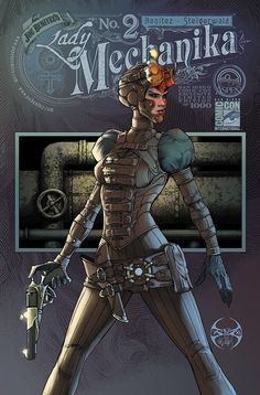 Lady Mechanika #2 Comicon ed by ~joebenitez on deviantART #LadyMechanika #Aspen