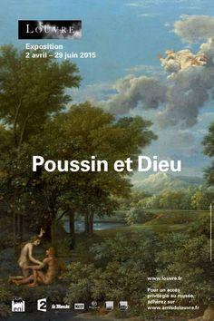 """Poussin et Dieu. 350e anniversaire de la mort de Poussin, au Louvre peinture sacrée de l'artiste. Figure du """"peintre poète"""" (inspiré par Ovide ou Virgile) et modèle du """"peintre philosophe"""" (imprégné des vertus antiques), ce dernier fut l'auteur d'un oeuvre aux résonances multiples dont la dimension chrétienne a été souvent négligée. Un artiste capable de mêler le profane et le sacré pour mieux méditer les mystères de la religion."""