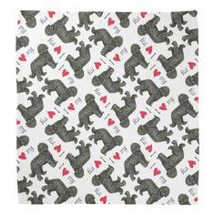 I Love my Barbet Bandana   pug diy, pug outfits, pug dog #puglife #socks #mypeoplearebetterthenyourpeople Baby Puppies, Puppies For Sale, Australian Cattle Dog, Australian Shepherd, Bulldog Names, Funny Bulldog, Pug Wedding, Cute Puppies Golden Retriever, French Bulldog Facts