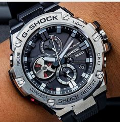 Casio is one of our favorite watch brands for men. We provide you with a huge variety of men's Casio watches ranging from vintage ones to newer models. Here you will find models such as the G-shock, W & others. Buy your first CASIO watch NOW! Stylish Watches, Casual Watches, Luxury Watches For Men, Cool Watches, Men's Watches, Unique Watches, G Shock Watches Mens, Mens Sport Watches, Casio Vintage