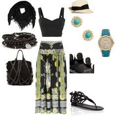 Boho Chic, created by danninini on Polyvore