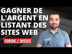 Gagner 1000€ par mois en listant des Sites WEB Site Web, Polo Shirt, Youtube, Mens Tops, Affiliate Marketing, I Don't Care, Earning Money, Polos, Polo Shirts