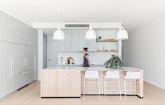 Home Decor Kitchen, Kitchen Living, Kitchen Interior, Home Kitchens, Kitchen Ideas, Open Plan Kitchen, Decoration, Home Remodeling, Sweet Home