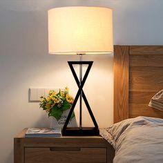 Led Lamps Led Table Lamps Designer Modern Iron Bedside Table Lamps Long Pole Rotating Nordic Bedroom Living Room Study Desk Lights Study Decor Fixtures