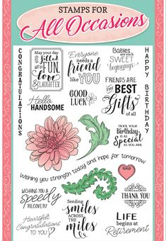 Simply Cards & Papercraft issue 172 stamp set