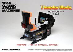 Sega Classic Arcade Machines A Set Proposal for Lego Ideas Build miniature representations of classic Sega arcade games out of Lego bricks! These minifigure-scaled replicas wi...