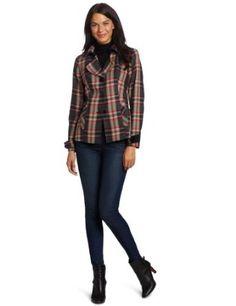Pendleton Women's Ivy League Jacket, Cityscape Worsted Plaid, 12 Pendleton. $129.00