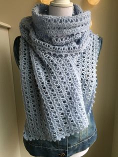 Tijd voor een gratis patroon: de Confetti sjaal