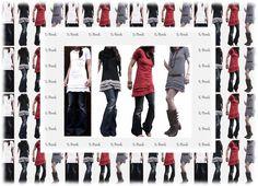 Ebook,Schnitt Jerseykleid oder Tunika! von allerlieblichst ! auf DaWanda.com