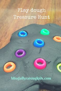 quick treasure hunt idea for quiet time
