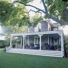 Huge front porch is a must