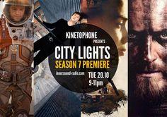 CITY LIGHTS Film Music Radioshow - Season 7 Premiere Light Film, Season 7, City Lights, Community, Board, Music, Movie Posters, Image, Musica
