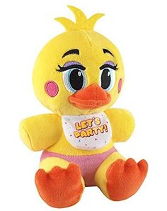 Funko Five Nights at Freddy's Toy Chica Plush, 6""