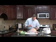 HOW TO: Turkey Stuffed with Sausage & Onions Butterball Oil Free Turkey Fryer