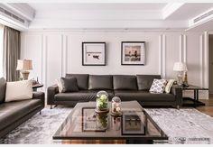霞公館之『法式古典』_新古典風設計個案—100裝潢網 Couch, Furniture, Home Decor, Settee, Decoration Home, Room Decor, Sofas, Home Furnishings, Sofa