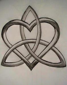 eternity HEART knot tattoo designs | All Heart Tattoo: Heart Tattoos With Image Heart Tattoo Designs ...