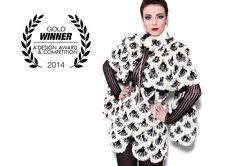 Golden A' Fashion, Garment and Apparel Design Award 2014, Milan, Italy - 7 in 1 -takki Kuva: AbsoluteStudiosDublin