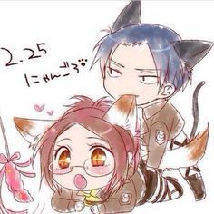 This is a new level of LeviHan cuteness.
