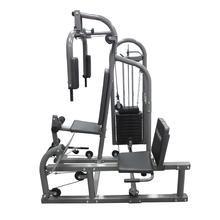 Estação de Musculação Titanium Fitness G90, com Leg Press, coluna de pesos de 45kg, Suporta até 120Kg