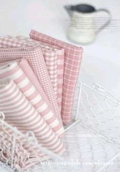 Love this shade of pink. Sewing Hacks, Sewing Projects, Quilt Material, Fabric Combinations, Fabulous Fabrics, Pretty Pastel, Colour Schemes, Fabric Patterns, Shabby Chic