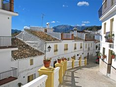 Houses in Spain   Tags backstreetfriday andalucia spain white houses village street