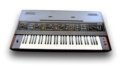 Farfisa Polychrome, an extremely rare #synth. PHOTO CREDIT: RL Music