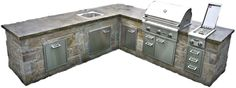 Put this right on your back patio.  This is a DIY kitchen from Walttools