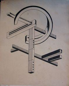Iakov Chernikhov   Architectural compositions by Iakov Chernikhov, 1924-1931