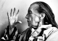 Louise Bourgeois  (French-born American sculptor, 1911–2010). Photo: Annie Leibovitz