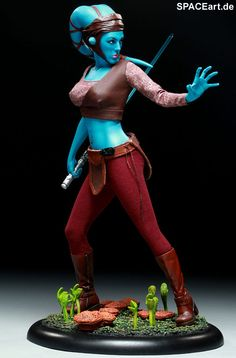 Star Wars: Aayla Secura - Premium Format Figur, Fertig-Modell ... http://spaceart.de/produkte/sw018.php