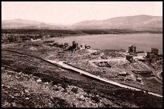 Η Καστέλλα και το Νέο Φάληρο γύρω στο 1890. Φωτογραφία: Αφοί Ρωμαΐδη.