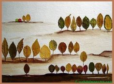 Free crafts for kids Autumn Crafts, Fall Crafts For Kids, Autumn Art, Nature Crafts, Autumn Leaves, Art For Kids, Autumn Activities, Art Activities, Art Floral