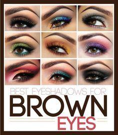 Best eye shadow for brown eyes.