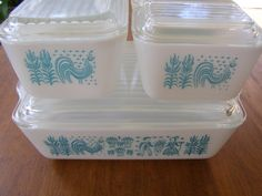 Vintage Pyrex Amish Butterprint Complete by oldtime4you on Etsy, $58.00