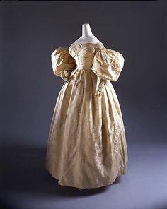 Wedding Dress 1835 The Metropolitan Museum of Art