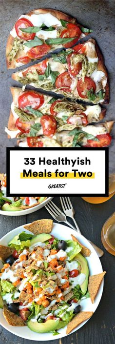 Healthy mealsfrom breakfast to dessertperfectly portioned for a pair. #Greatist greatist.com/